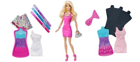 design clothes toy amazon com barbie fashion design plates doll toys games