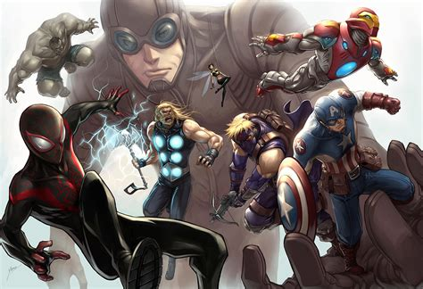 ultimate marvel ultimates by quirkilicious on deviantart