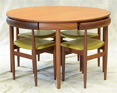 Compact Dining Table And Chair Sets Compact Dining Room Table Marked Rem Rojle Made In Denmark