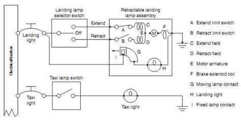 landing light switch wiring diagram images wiring