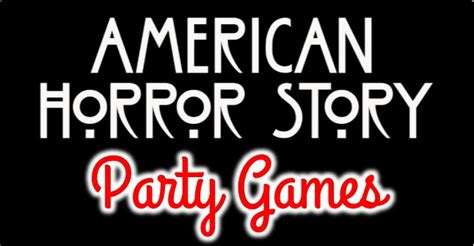 theme hotel games freak american horror story party games and ideas