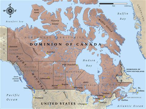 map of canada in 1914 nzhistory new zealand history