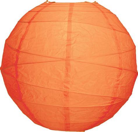 How To Make Rice Paper Lanterns - mango orange 14 quot rice paper lantern solid color
