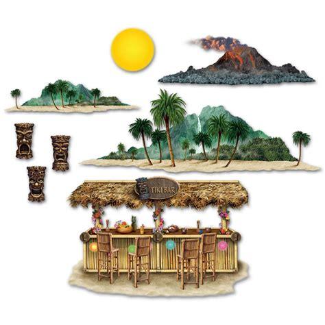 Tiki Bar Accessories Luau Supplies Tiki Bar Island Props Qty Of 96