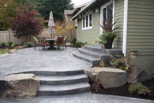 five concrete design ideas for a small backyard patio the ask home design