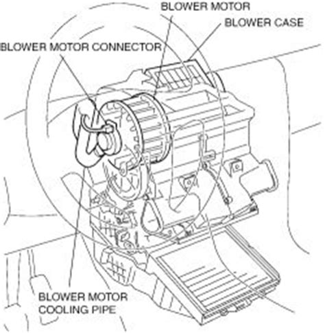 blower motor resistor mazda tribute repair guides blower motor removal installation 1 autozone