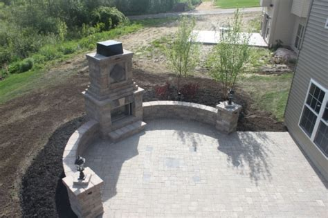Patio And Hearth Avon Akron Outdoor Fireplace Contractor Paver Patio