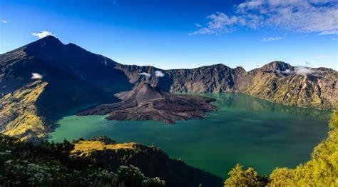 Kaos Gunung Rinjani Lombok 1 sempat gagalkan penerbangan aktivitas anak gunung rinjani normal viral bintang