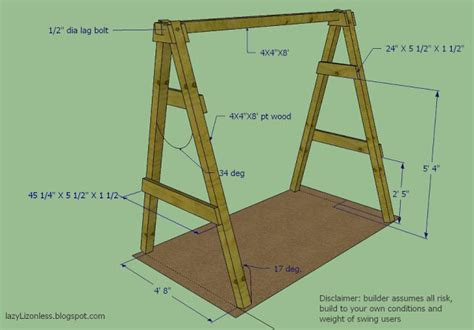 how to make swing at home how to build a backyard swing set home design garden