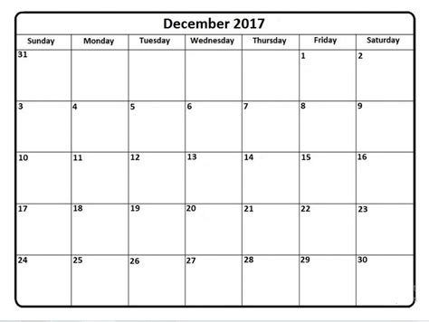 Calendar 2017 June To December January To December 2017 Monthly Calendar Free Monthly
