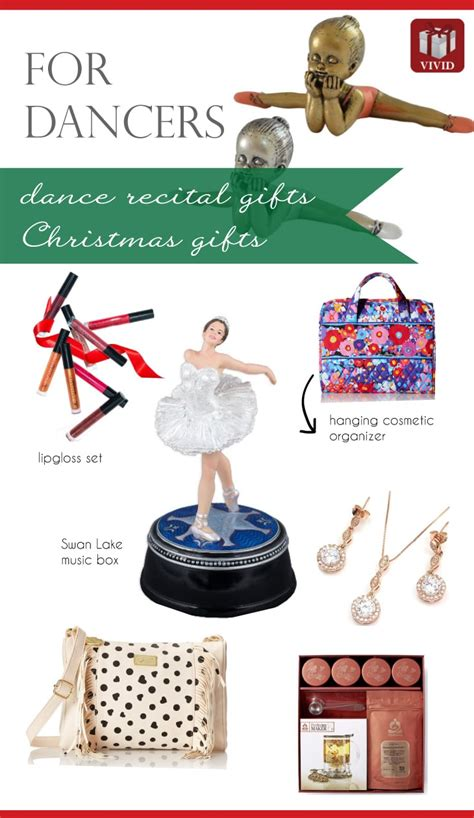 christmas dance recital gift ideas for dancers vivid s