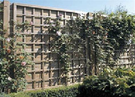 griglie per giardino griglie legno giardino grigliati e frangivento