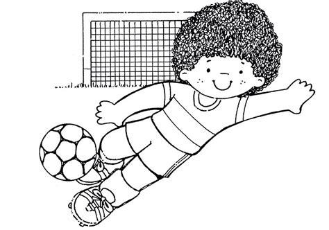 imagenes para colorear futbol dibujos colorear futbol imagui