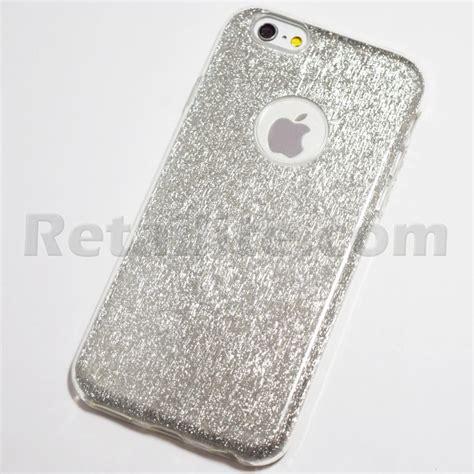 Bling Casse silver glitter bling for iphone 6 plus 6s plus