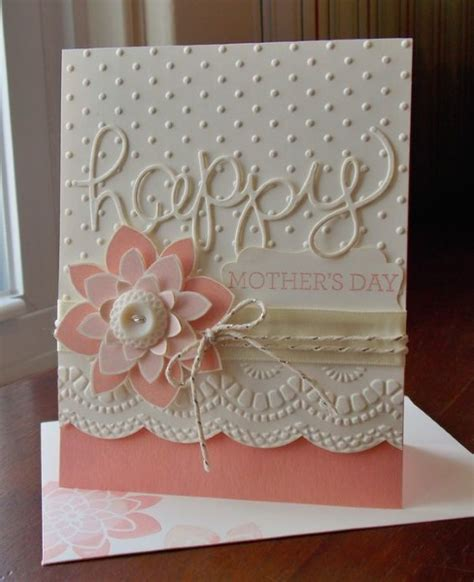 mother s day greeting card handmade 45 diy mother s day cards to show your love pink lover