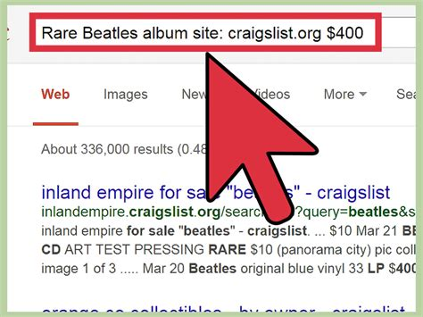 Craigslist Search How To Search All Of Craigslist Nationwide 7 Steps