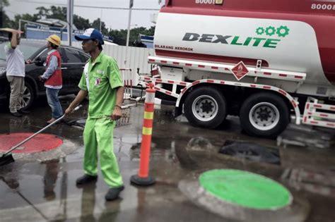 Minyak Dexlite tekan subsidi solar pertamina luncurkan dexlite