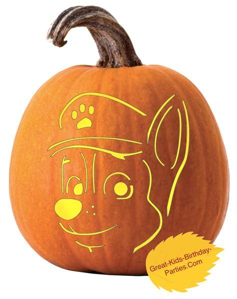 printable pumpkin stencils paw patrol pumpkin stencils