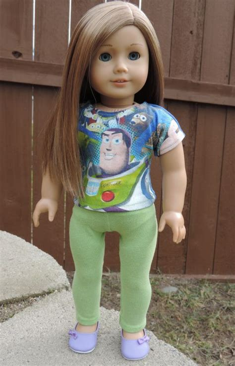 shirt pattern for american girl doll american girl doll buzz lightyear outfit t shirt and
