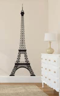 Eiffel Tower Wall Sticker Eiffel Tower Wall Decal Paris Wall Decal Wall Decor La