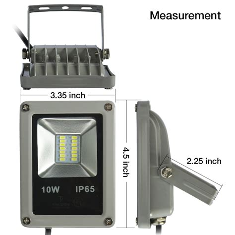 Best Led Flood Lights Outdoor Best Quality10w Led Flood Light Outdoor Landscape L Waterproof Spotlight Ebay
