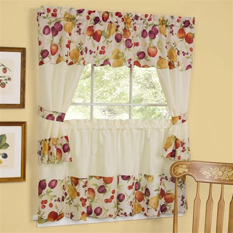 Kitchen Curtains Swags Curtain Enchanting Jcpenney Valances Curtains For Window Covering For Custom Kitchen Curtains