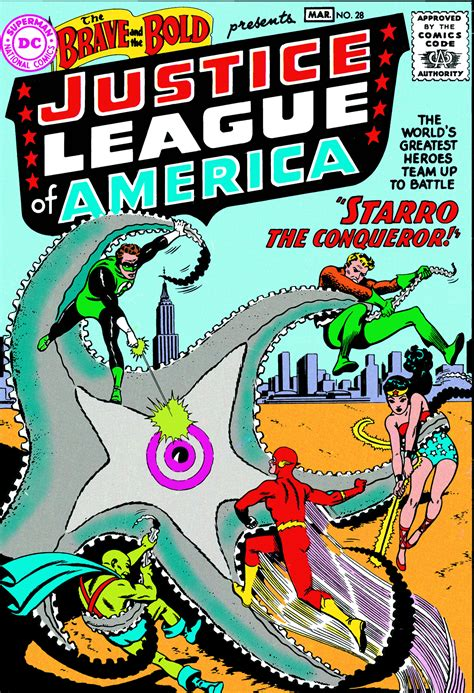 justice league tp vol 1401267793 nov150283 justice league of america the silver age tp vol 01 previews world