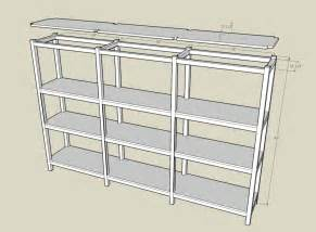garage shelf plans free shelf plans build a simple mission style wall shelf build storage
