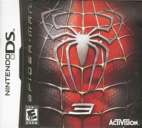 emuparadise spiderman 3 spider man 3 2007 nintendo ds box cover art mobygames
