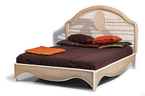 letti in midollino letto soul midollino 160x200 mobili in rattan