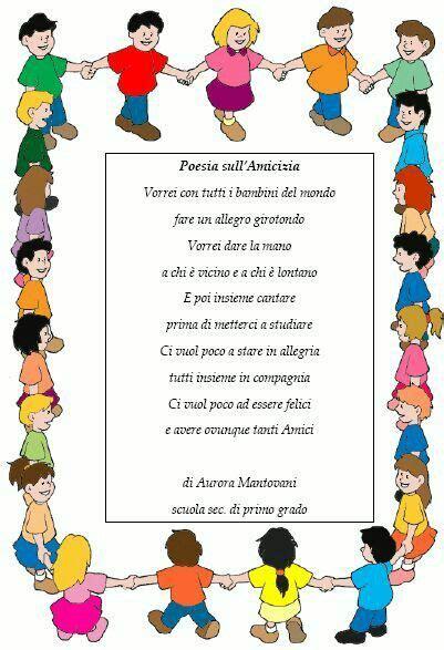amicizia testo testi sull amicizia scuola primaria 28 images poesia