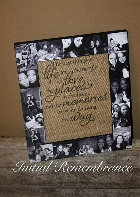 Handmade Photo Collage Ideas - best 25 photo gifts ideas on dyi