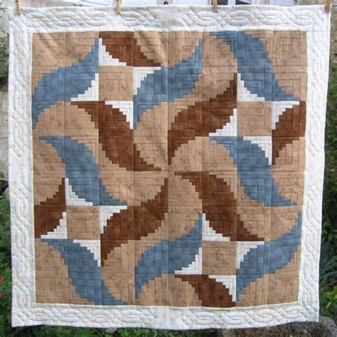 Log Cabin Patchwork - 32 best curved log cabin images on log cabin