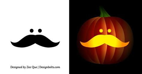 easy pumpkin templates free free simple easy pumpkin carving stencils patterns for