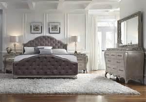 kk home decor rhianna glam style bedroom set by pulaski furniture home