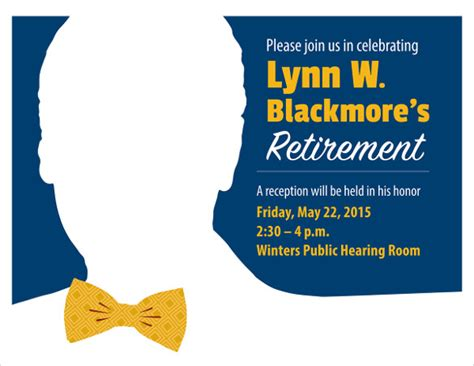 11 Retirement Party Flyer Templates To Download Sle Templates Retirement Luncheon Flyer Template