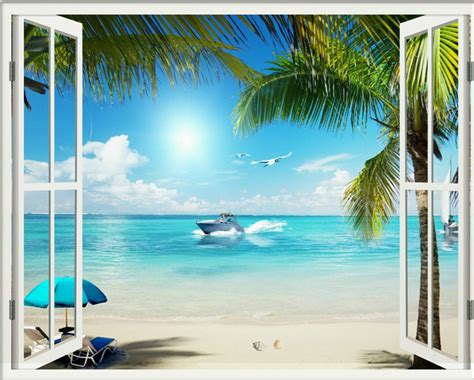 Free hd beach window mobile wallpapers download