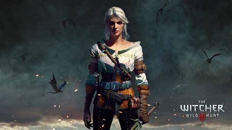 ciri  witcher  wild hunt wallpapers hd wallpapers