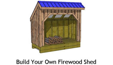 4x8 Shed Plans Free by 4x8 Firewood Shed Plans