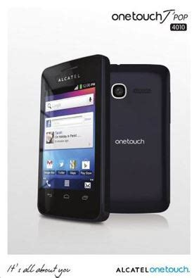 Hp Alcatel One Touch 4010x alcatel one touch 4010d one touch 4010x user manual in