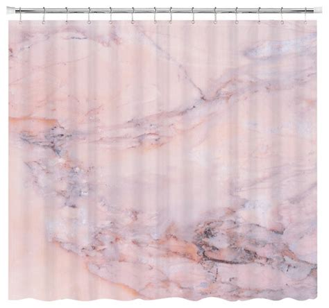 Marble Shower Curtain by Blush Marble Shower Curtain Shower Curtains By