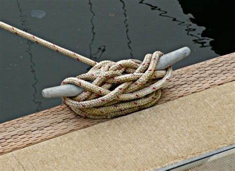 boat dock cleat knot is this your cleat boating safety tips tricks