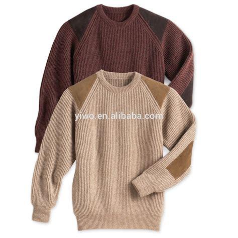 Handmade Mens Sweaters - winter knitwear pullover handmade knit wool sweater