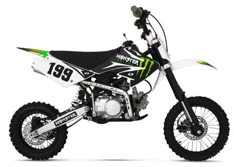 import motocross bikes dirt pit bike 125cc energy tornado racing pas