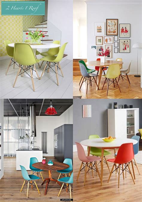 eames chair dining room dining room inspiration eames chairs two hearts one roof