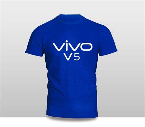 Kaos Gadget Handphone Vivo X3v Logo Font Baju Distro Tshirt Hp Murah jual kaos baju pakaian gadget handphone vivo v5 logo font
