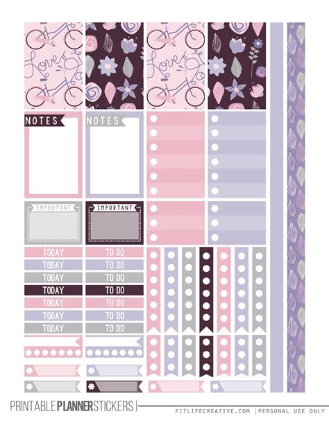 free printable planner labels the ultimate list for beautiful free printable planner
