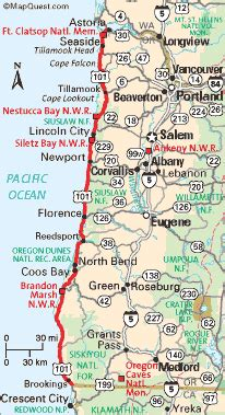 oregon coast travel the ways to get there