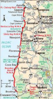 map of oregon beaches oregon coast travel the ways to get there