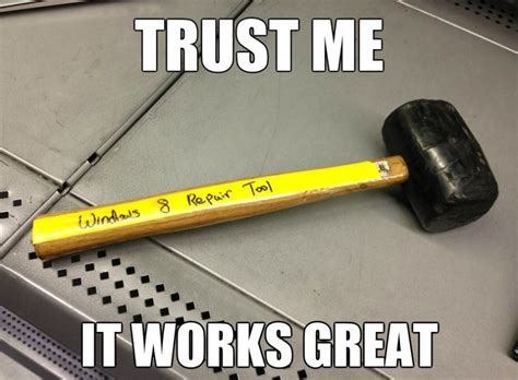 Meme Tool - windows 8 repair tool funny pictures quotes memes jokes